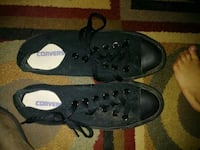 pair of black Converse All Star low-top sneakers Knoxville