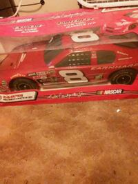 red and white Dale Earnhardt Jr. stock car die-cast model Republic, 65738
