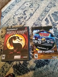 1 mortal combat game case and 1 sprint cars game t San Angelo, 76901