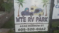RV lot for rent. Freeport