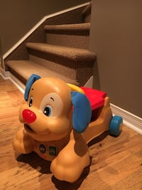 Camion poussete Fisher Price puppy stride-on  Laval, H7K 3T1