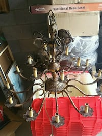 Antique/vintage 18 light brass chandelier  Richmond Hill, L4E