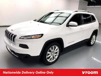2017 *Jeep* *Cherokee* Limited hatchback Bright White Clearcoat Los Angeles
