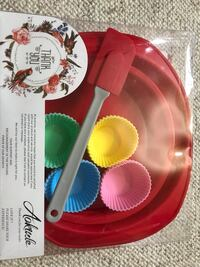 Silicon baking set (16 pieces set)