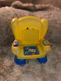 yellow and blue Fisher-Price learning walker Ontario, 91764