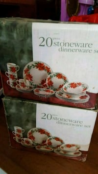 TWO 20 PIECE DINNER WEAR SETS NEW IN BOX Newport News, 23606