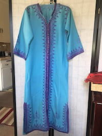 blue and purple long-sleeved dress Los Angeles, 91602