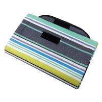 Outdoor Camping Beach Blanket Picnic Mat Nylon Lawn Mat Waterproof and Easy to Fold San Francisco