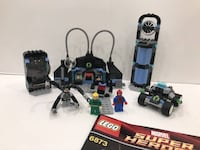 Used Spider-Man Lego Collection