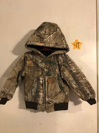 Carhartt boys camo jacket  Woodbridge, 22193