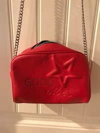 Stylish Good vibes red purse by MNG