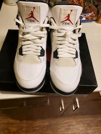 Air Jordan Cement 4s size 13. replacement box only