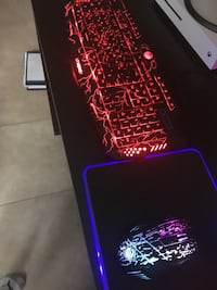LED Keyboard,Mouse and MousePad Set Montréal, H1C 2H7