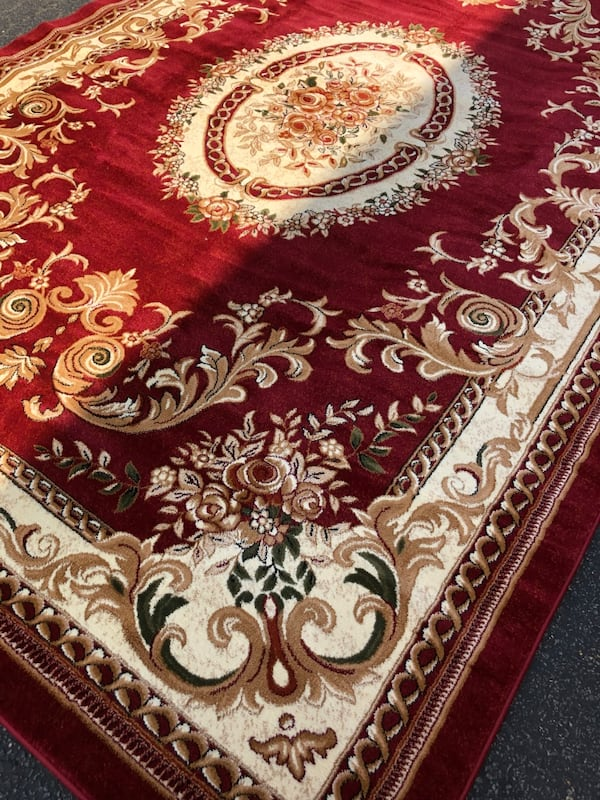 Brand new rug size 8x11 nice red carpet Persian design rugs and carpet 0fe1223a-9876-4ef4-902e-f4def8a9cccf