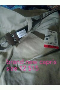 black and gray leather belt St. Louis, 63146