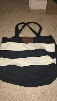 Navy and white striped Abercrombie bag Gambrills, 21054