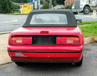 red 1991 Mercury Capri Convertible  Williamsport, 21795
