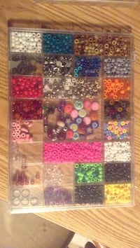 Plastic bead collection