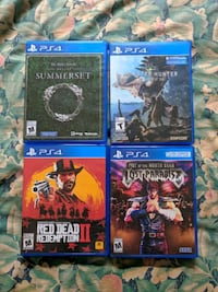 Selling 4 PS4 Video Games Toronto, M1P 4P5
