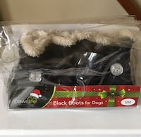 Black Boots for Dogs size SM Fairfax, 22033