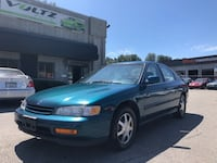 1995 Honda Accord Sdn 4dr Sedan EX Auto Coquitlam