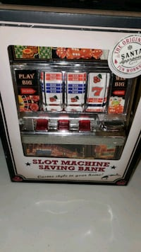 Slot machine piggy bank SERIOUS BUYERS ONLY