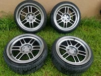 17x9.5 Esr rfp1s like new barely used. 700 obo.  Winter Haven, 33881