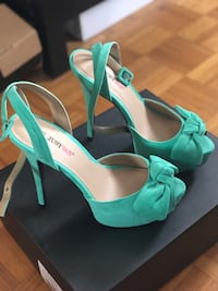 Turquoise high heels Vaughan, L6A 1T9