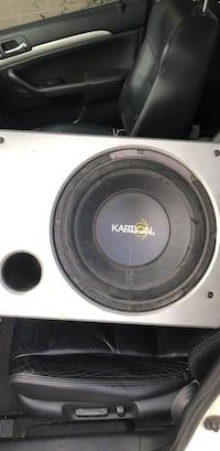 white and black Pioneer subwoofer Toronto, M8Z 2S6