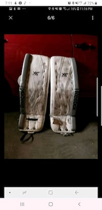 Martin Jones pro return goalie pads Edmonton, T5J 1B9