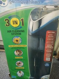 Germguardian 3 in 1 air cleaning system Des Moines, 50317
