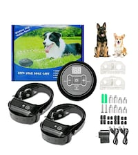 Wireless Dog Fence, Wireless, Beep/Shock, Waterproof  NEW ½ PRICE