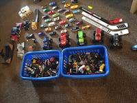 assorted plastic toys with packs Edmonton, T5H