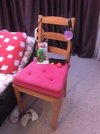 Wooden Chair with Cushions Waterloo, N2J 3M9