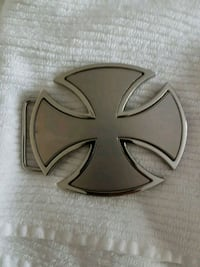 Iron Cross belt buckle Delta, V4L 1B7