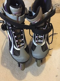 Women rollerblades size 8 Whitby, L1R 3B2
