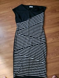 Black and white dress super cute but never wear  Calgary