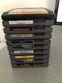 NES cartridge lot Nintendo Sega