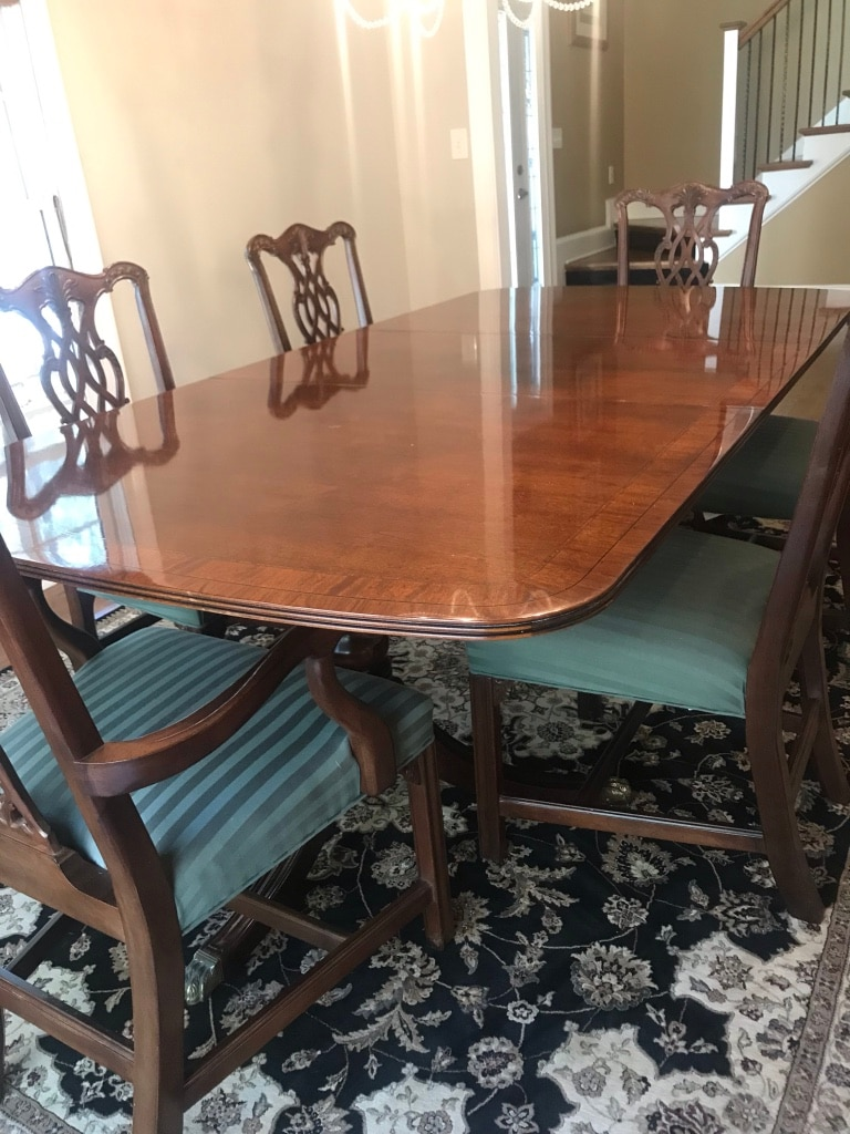 Etonnant Henredon Dining Table Set And Chairs