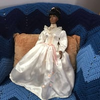 white and brown dressed doll Rockville, 20853