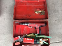 Hilti DX-350 Powder Actuated Fastening Nail Gun With Case Calgary