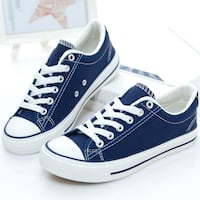 blue-and-white low top sneakers Lanham, 20706