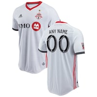 Men's adidas White Toronto FC 2018 Away Soccer Authentic Jersey