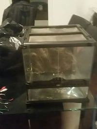 Reptile Aquarium used briefly ... price not neg Montreal, H3K 1J7