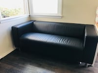 IKEA Couch - black Hawthorne, 90250