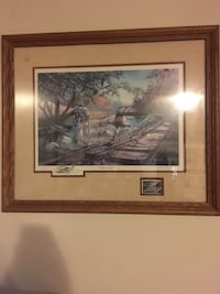 brown wooden framed painting of house Kawartha Lakes, K0L