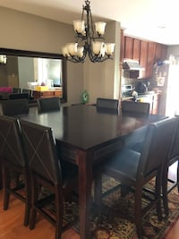 Dark Brown 8 Seater Dining Table Lorton, 22079