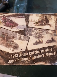 1992 arctic cat manual