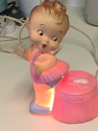 Old, Vintage Cupie doll Little Miss Muffet light....works! Chantilly