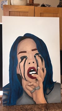 Billie Eilish painting Toronto, M6M 1G7